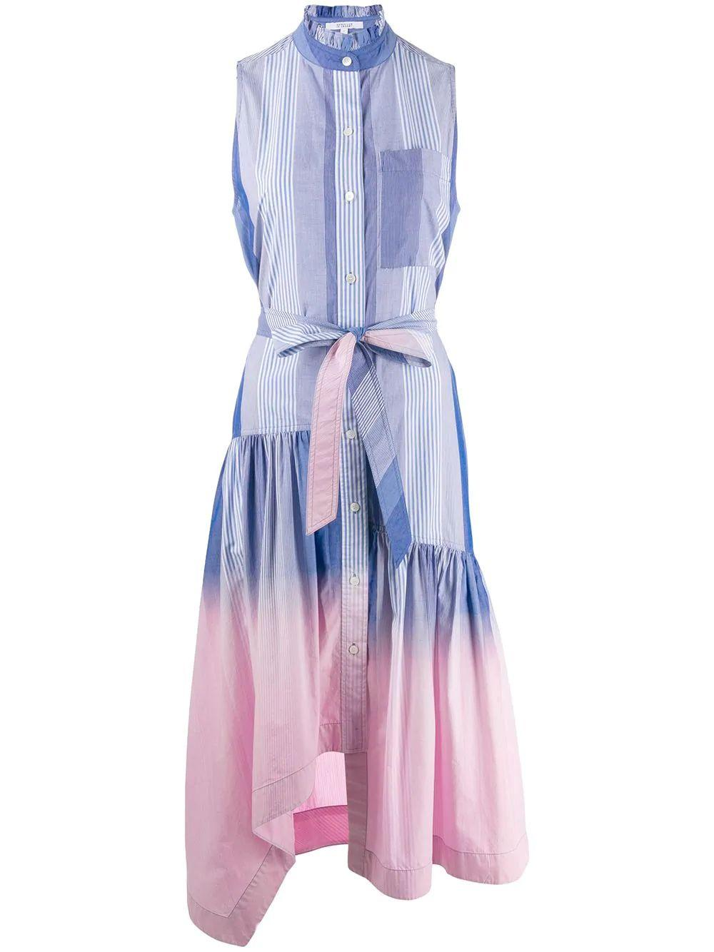 Nerioa Dip Dye Maxi Dress