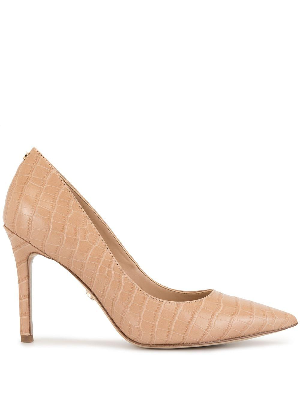 Crocodile Embossed Pump Item # HAZEL-CROC