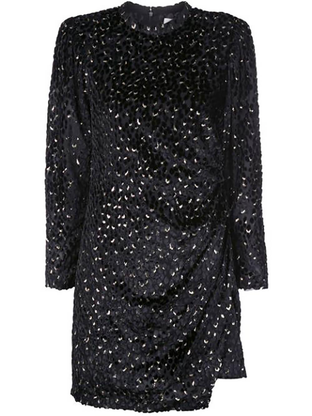 Jane Long Sleeve Sparkle Dress