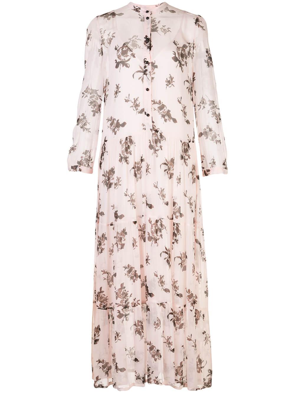 Aia Printed Maxi Dress Item # 20713