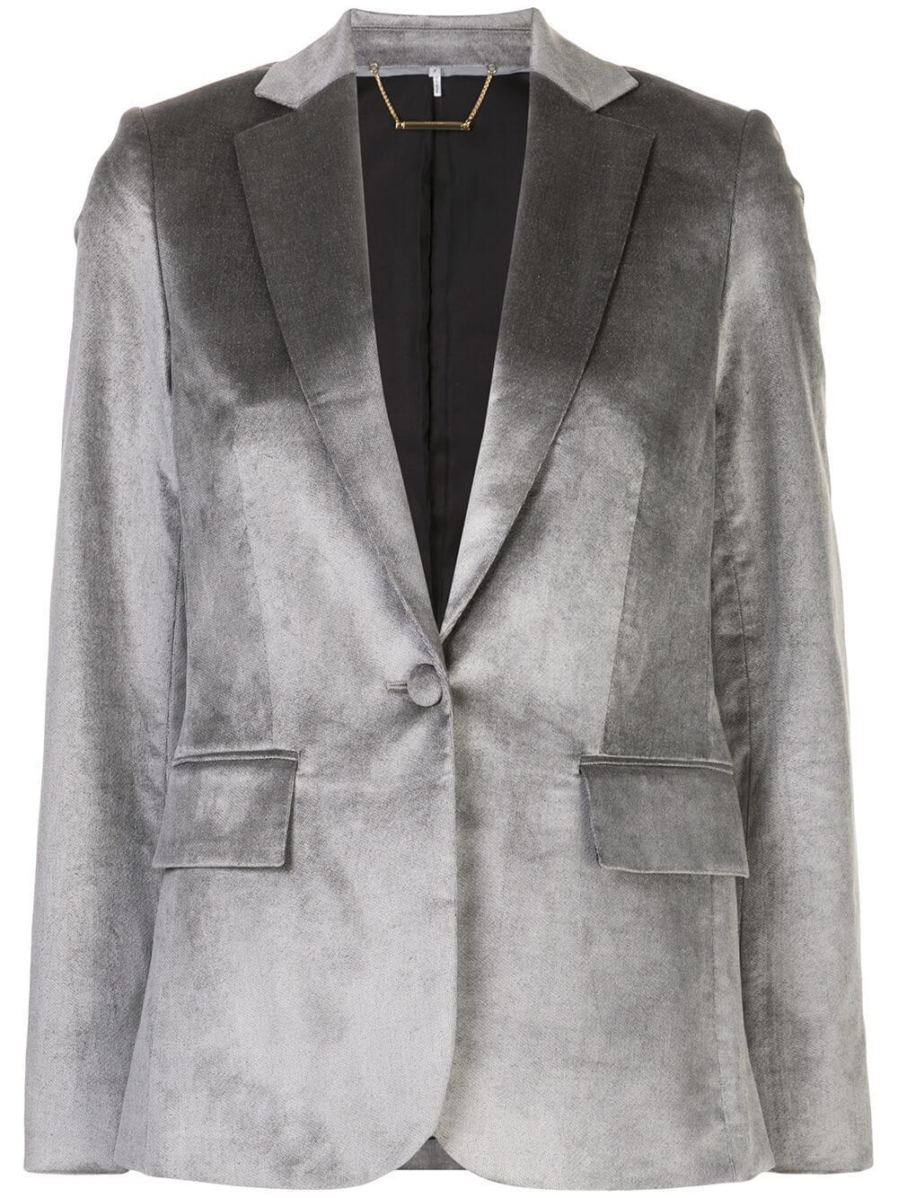 Classic Single Button Blazer Item # LWOT0414