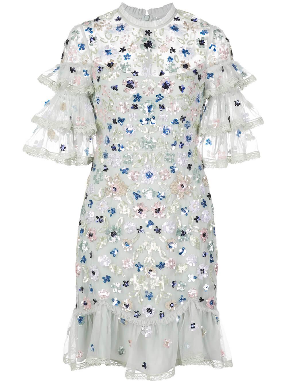 Meadow Sequin Mini Dress
