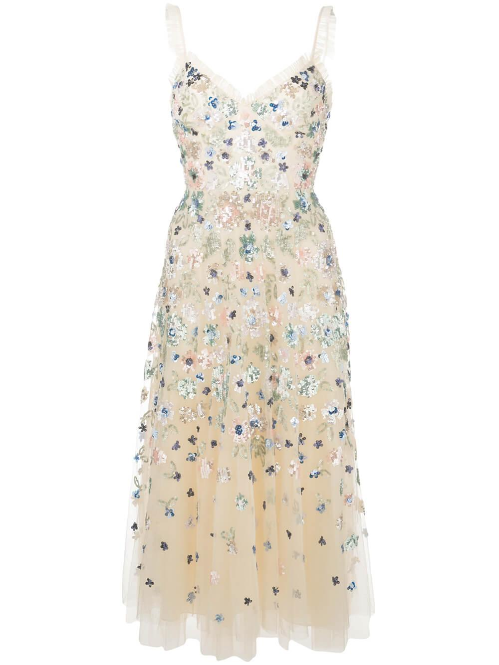 Wildflower Sequin Mini Dress Item # DR0030PS20-CPN