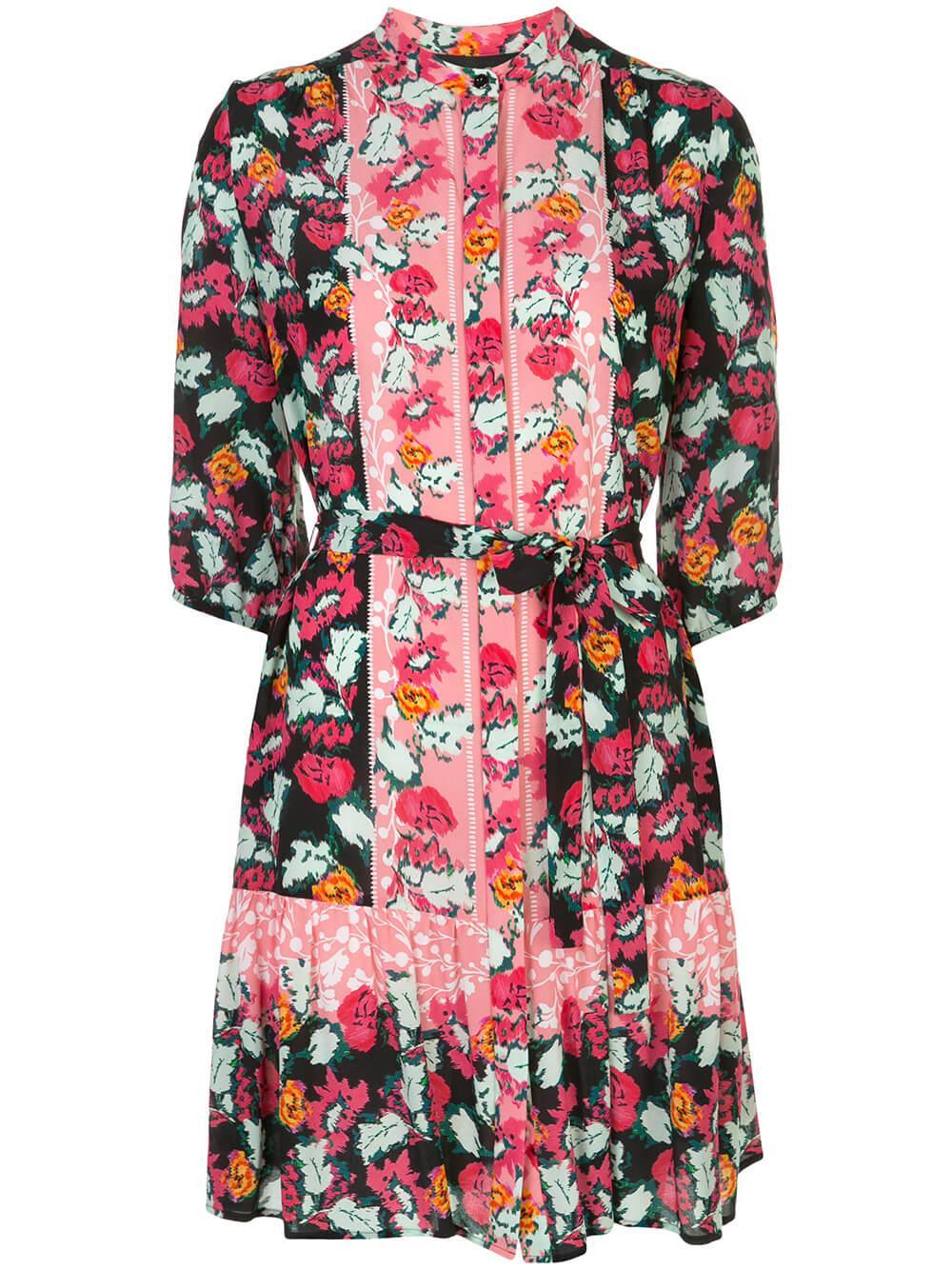 Tyra Floral Print Mini Dress