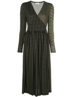 Alina Midi Wrap Dress