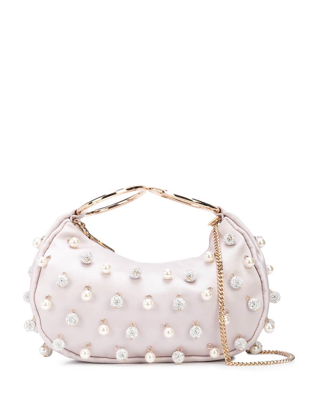 Collins Pearl Bracelet Clutch