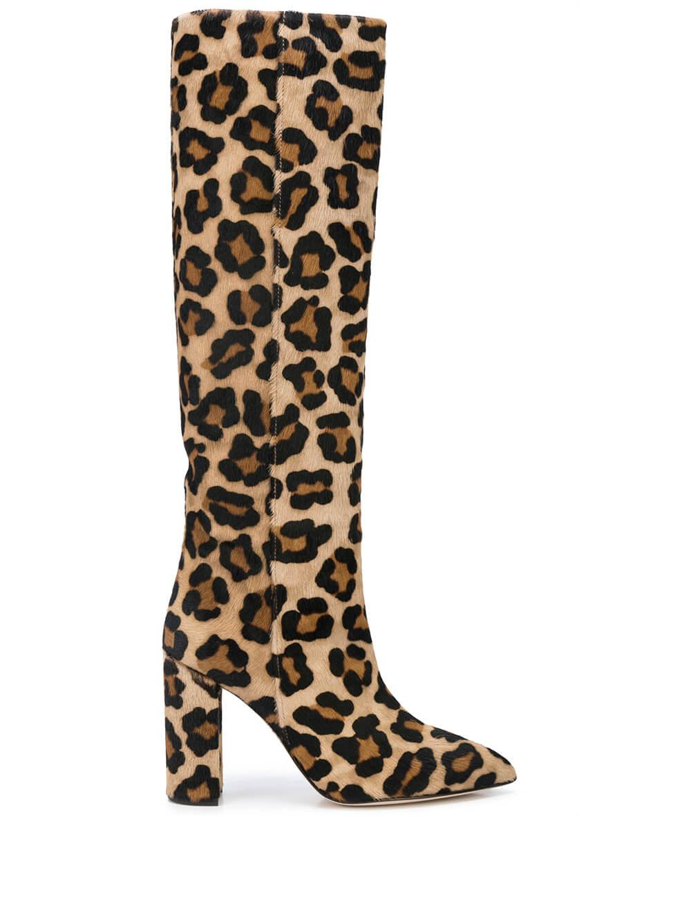 Calf Hair Tall 100MM Boot