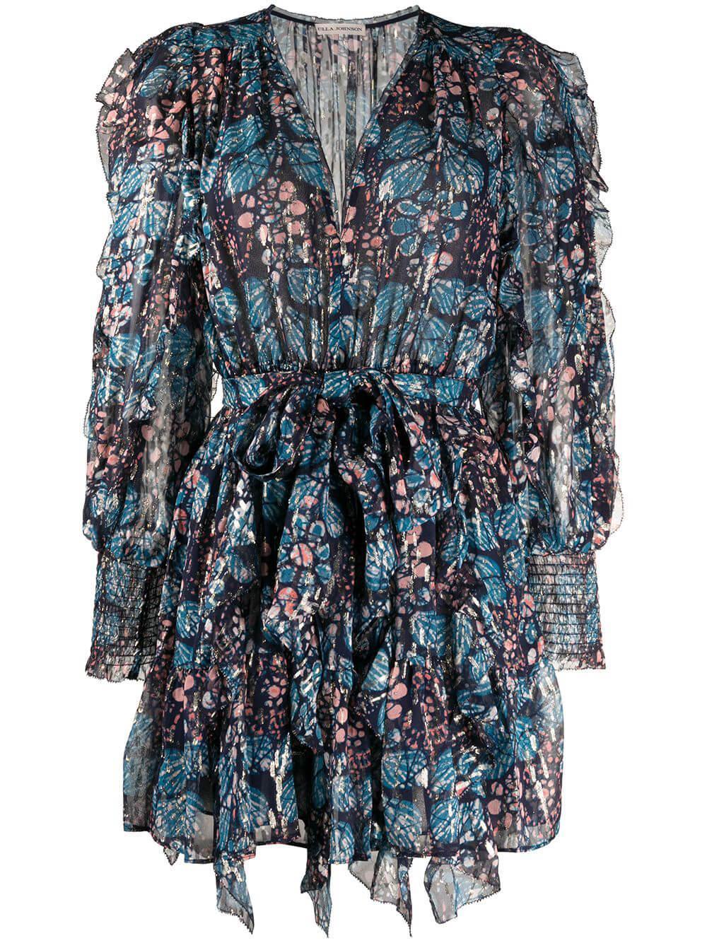 Natalia Short Full Sleeve Dress