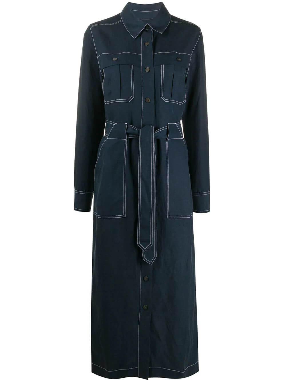 Juno Linen Tencel Utility Dress Item # W011210560
