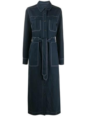 Juno Linen Tencel Utility Dress
