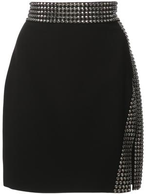 Christi Student Asymmetric Mini Skirt