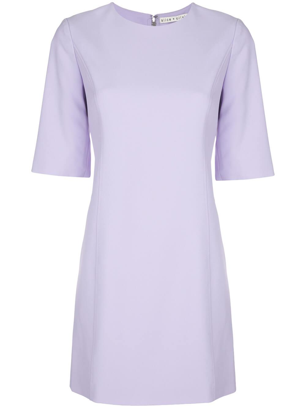 Coley Short Sleeves Aline Shift Dress