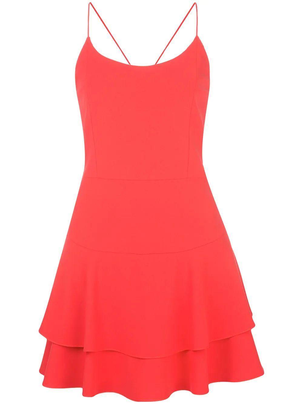 Palmira Ruffle Tank Dress Item # CC911202529