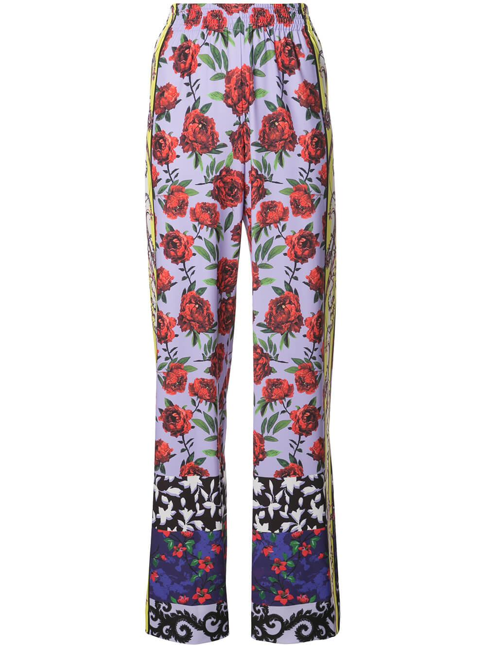 Elba Full Length Printed Wide Leg Pant