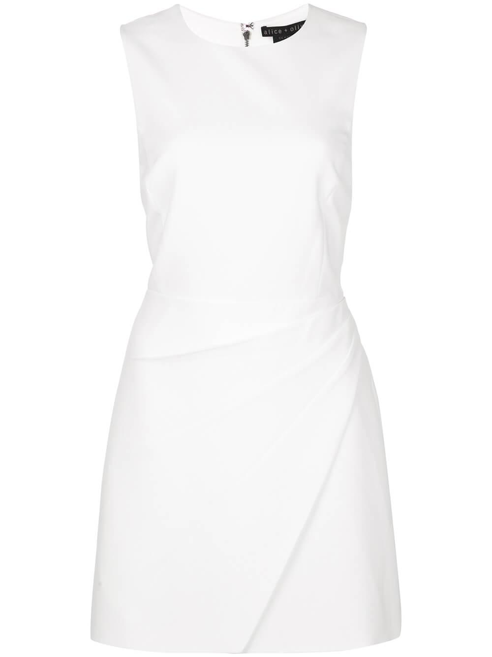 Kelsey Asymmetric Drape Dress