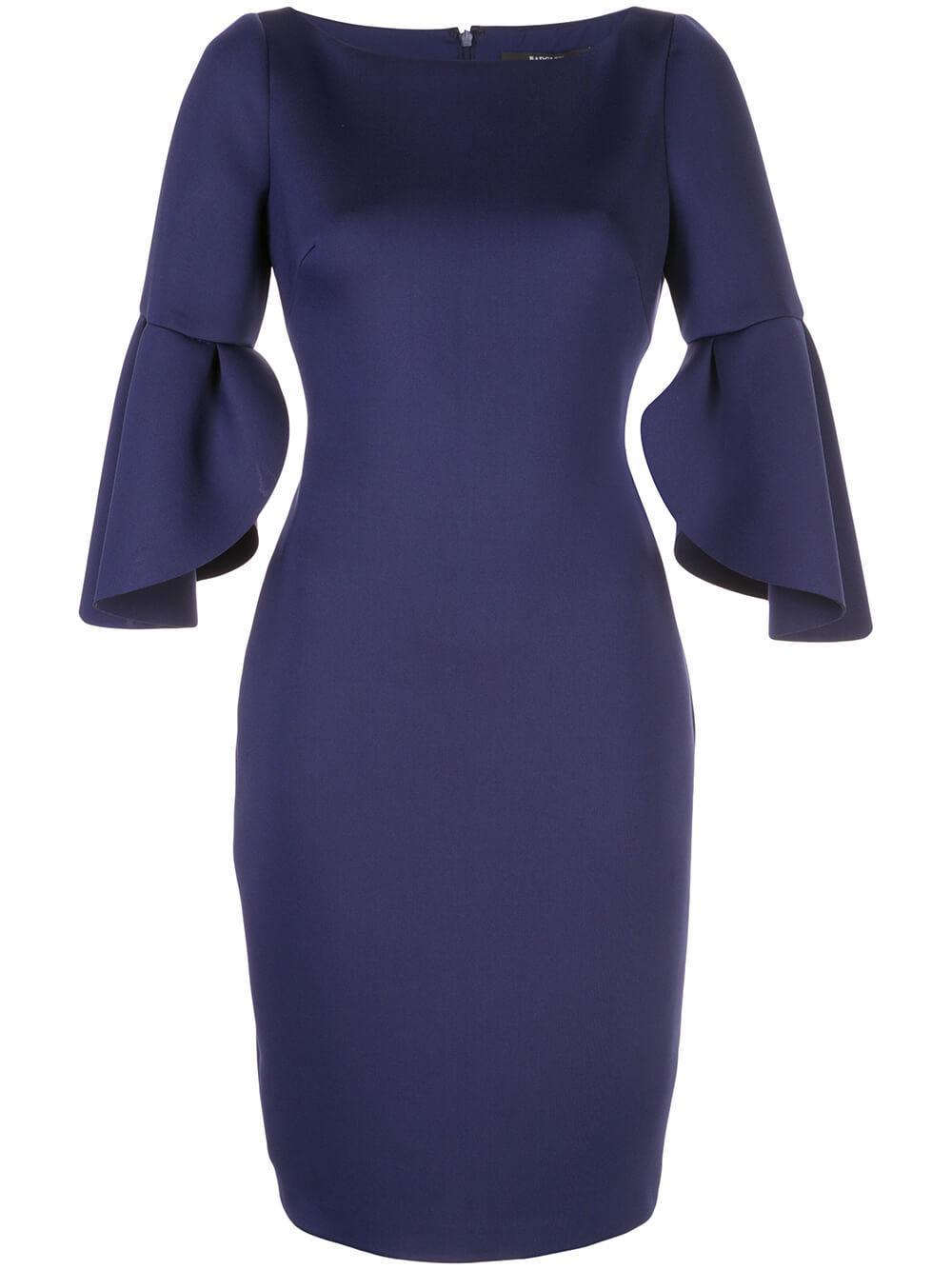 Tulip Sleeve Cocktail Dress Item # SC2492