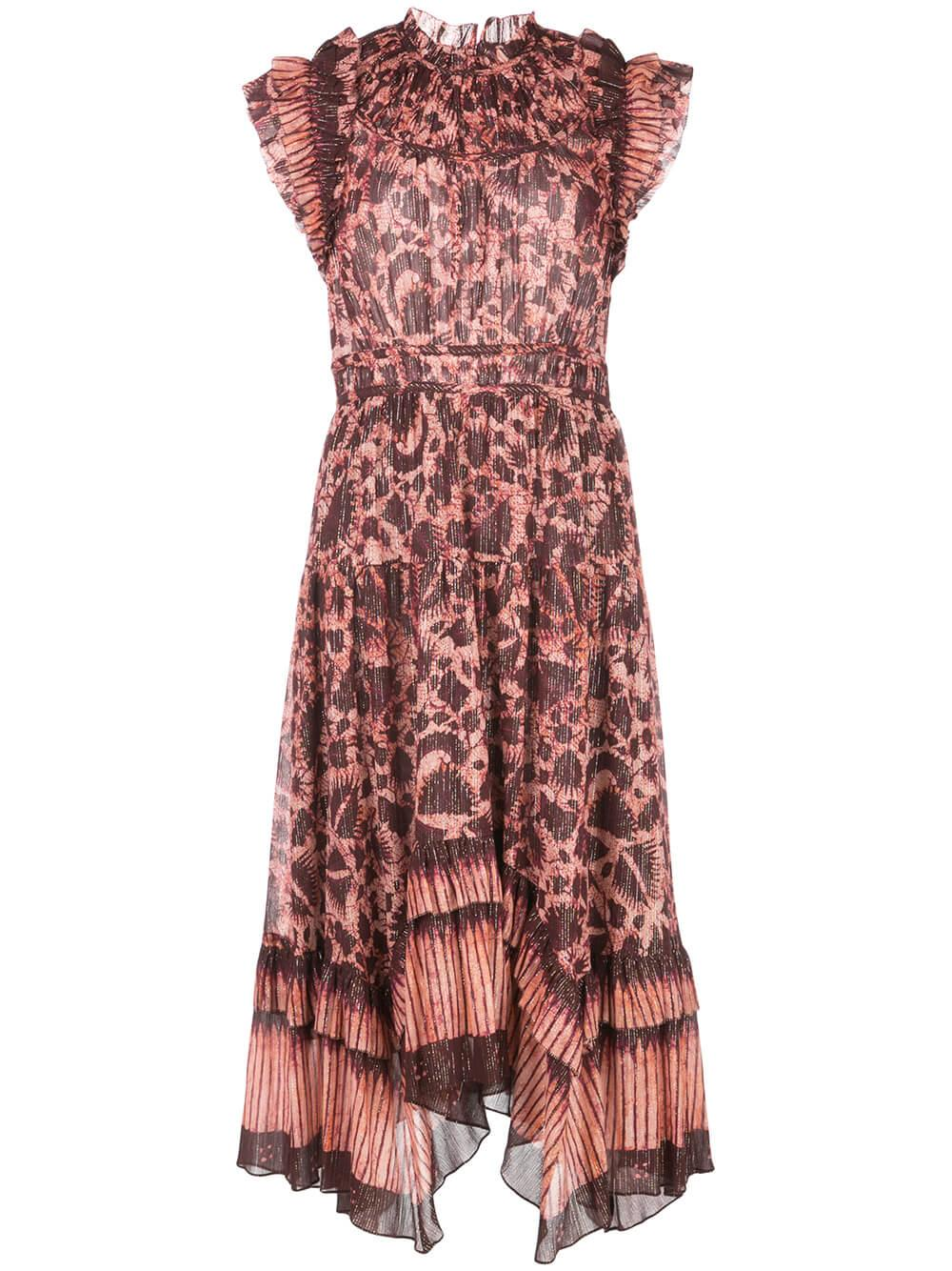 Amalia Sleeveless Midi Dress
