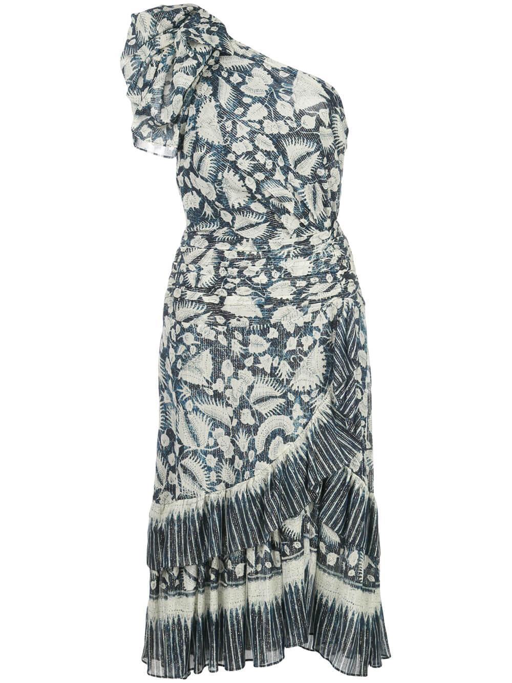 Anja One Shoulder Dress