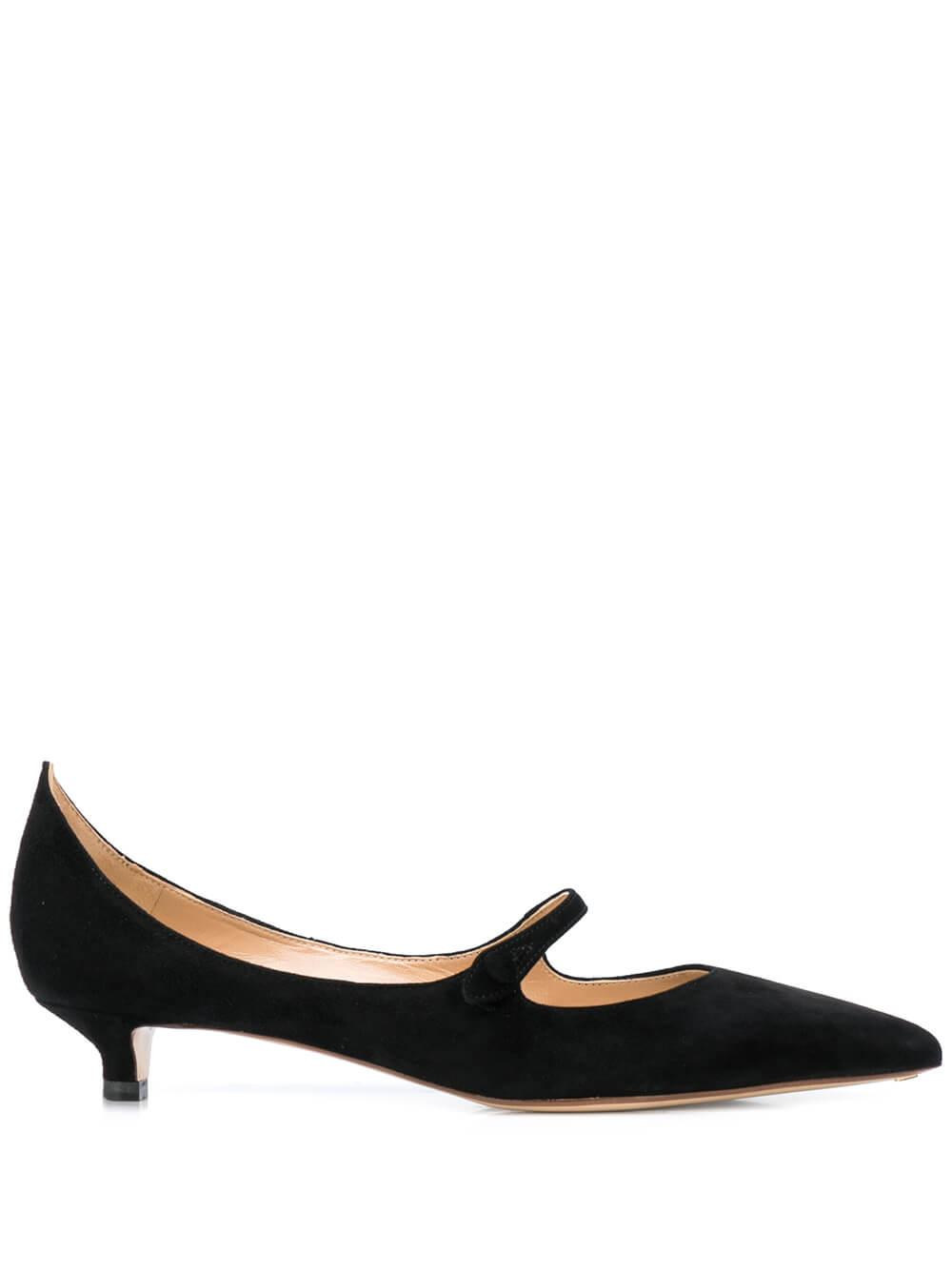 Suede 25mm Mary Jane Pump Item # R1P599-201