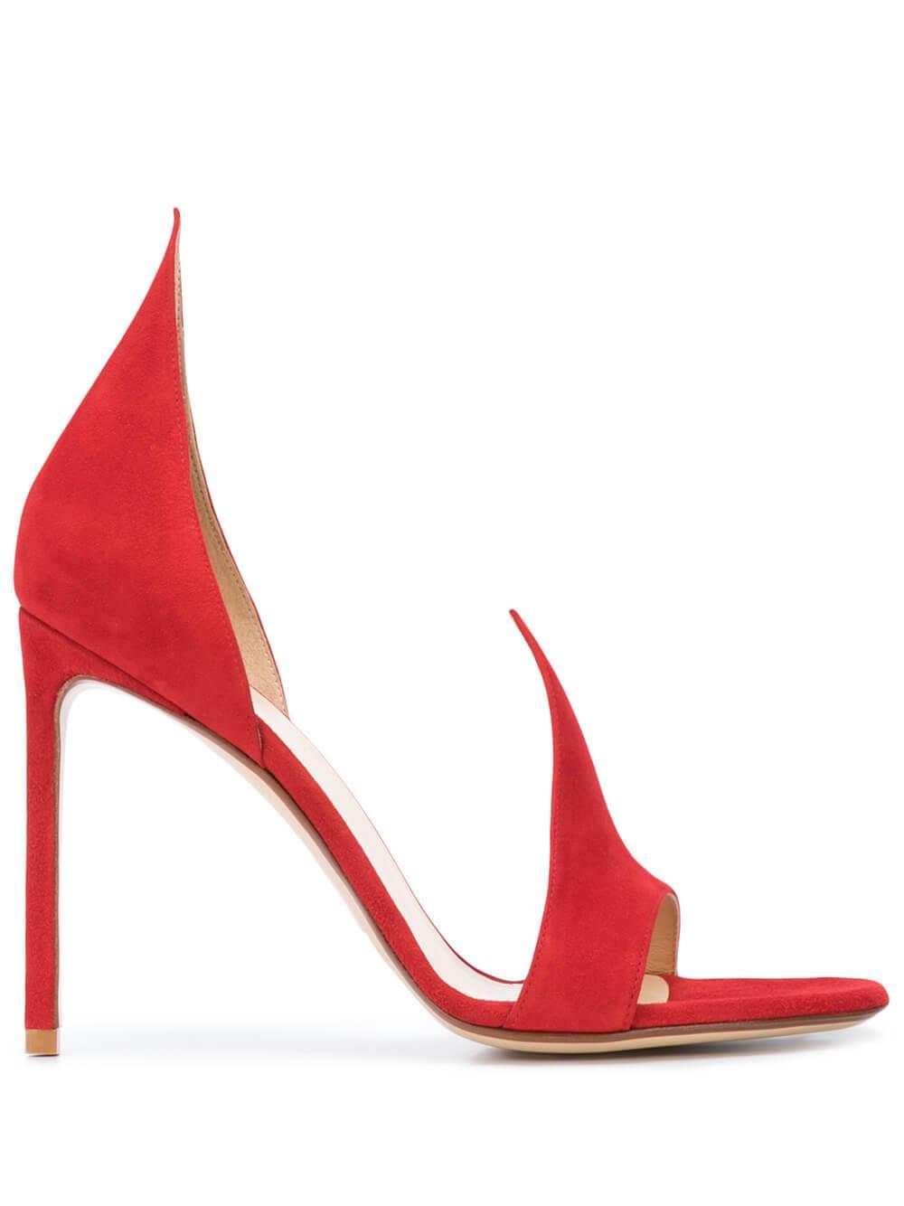 Suede 105mm Sandal Item # R1S087-201-R20