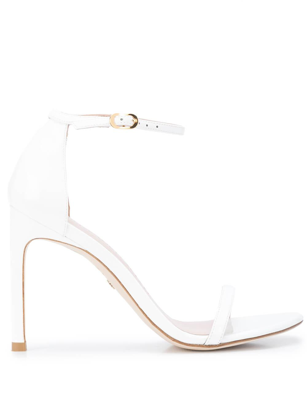 Patent 100mm Sandal With Ankle Strap Item # NUDISTSONG-R20