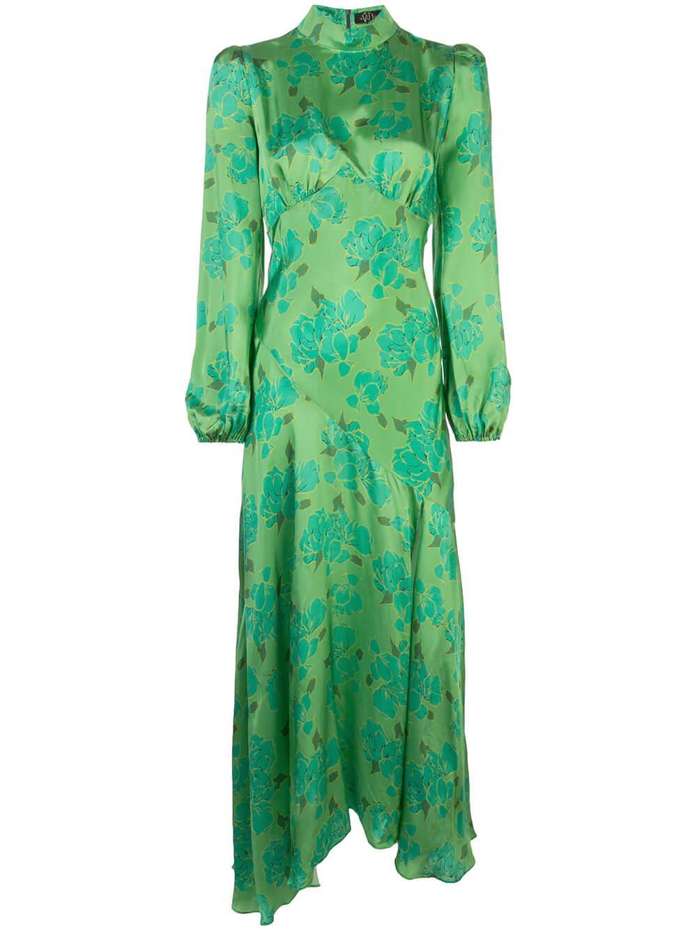Clara Maxi Long Sleeve Dress