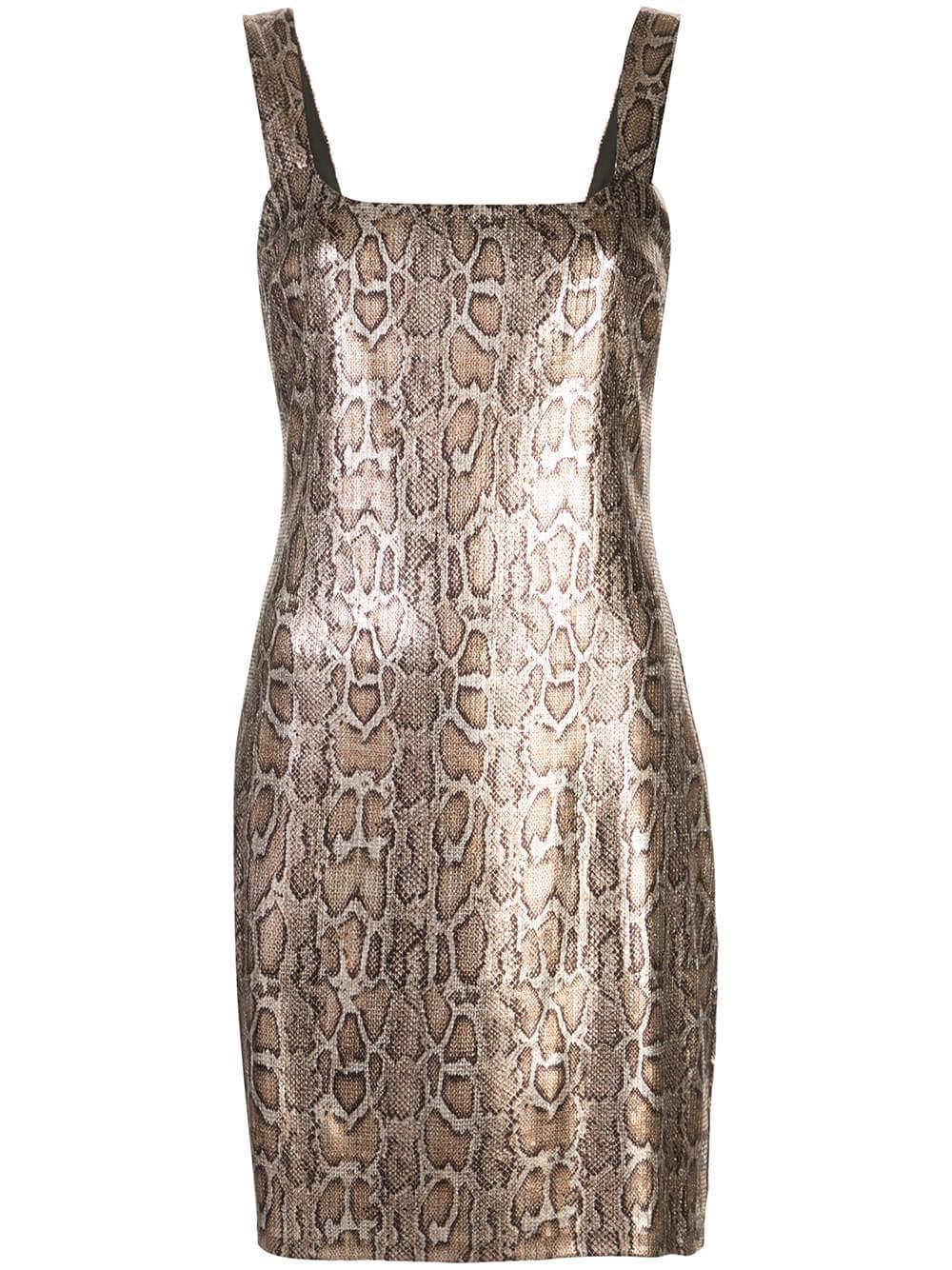Auden Python Print Dress
