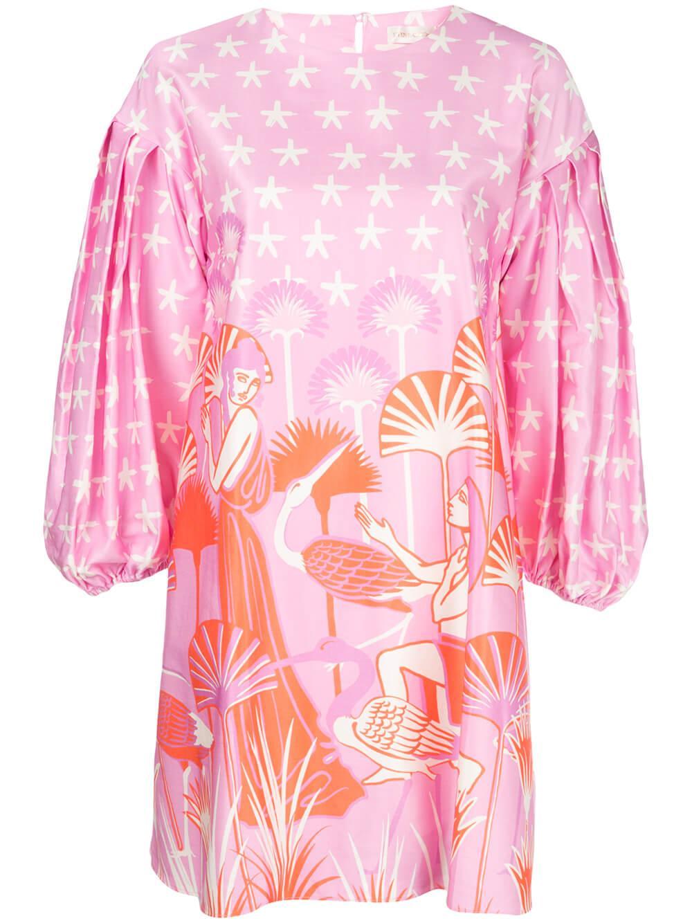 Francis Aida Print Dress