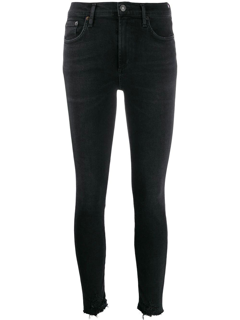 Sophie Skinny Mid Rise Ankle Jean