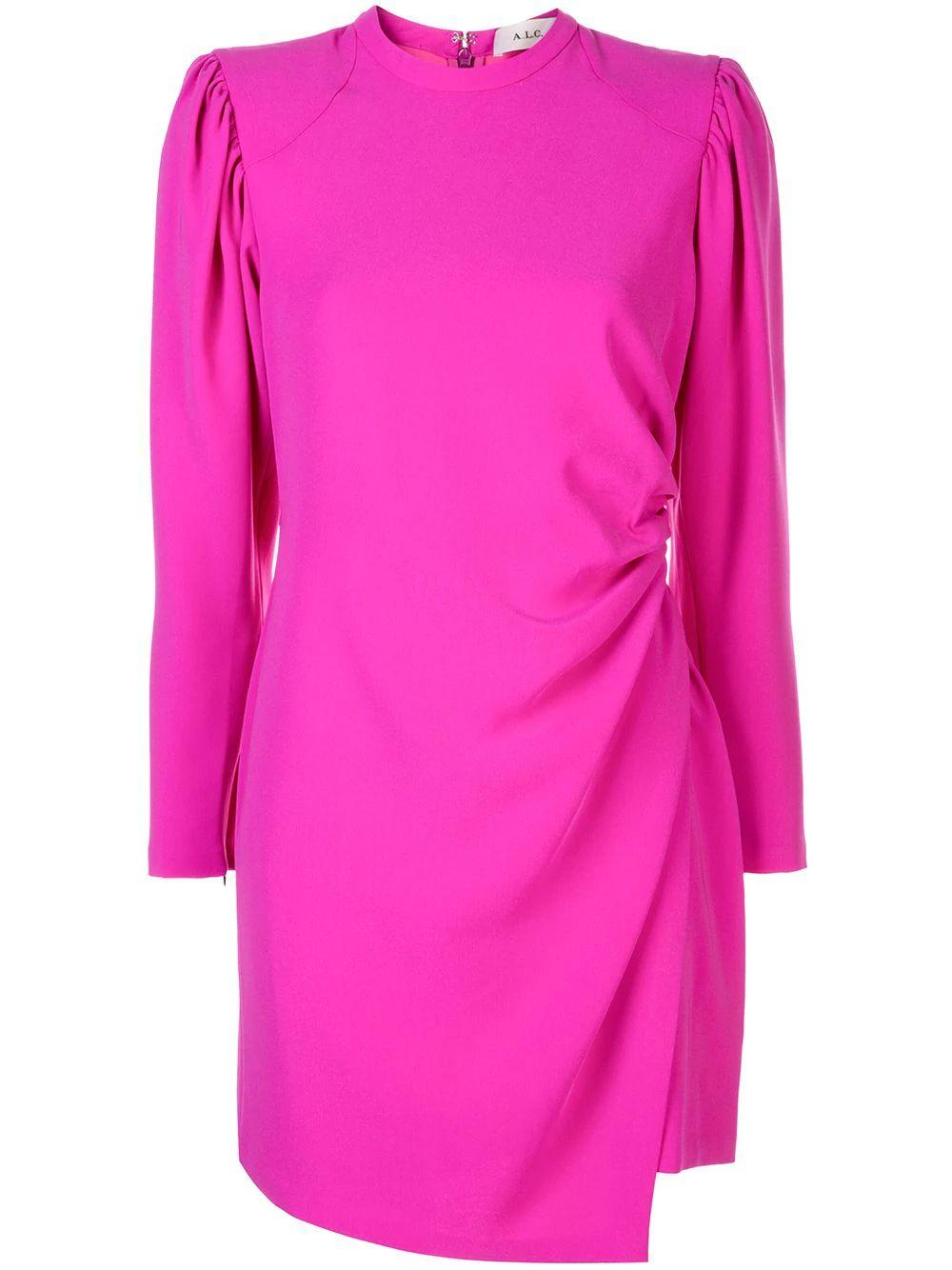 Jane Long Sleeve Short Dress Item # 6DRES00820