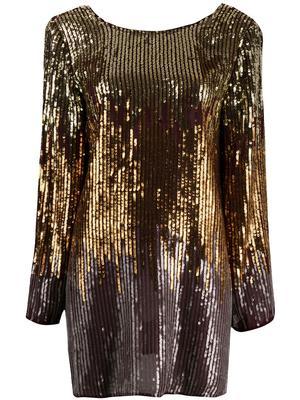 Aria Long Sleeve Mini Dress