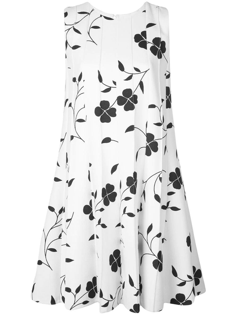Sleeveless Pleated Mini Dress Item # 20RN219FWC
