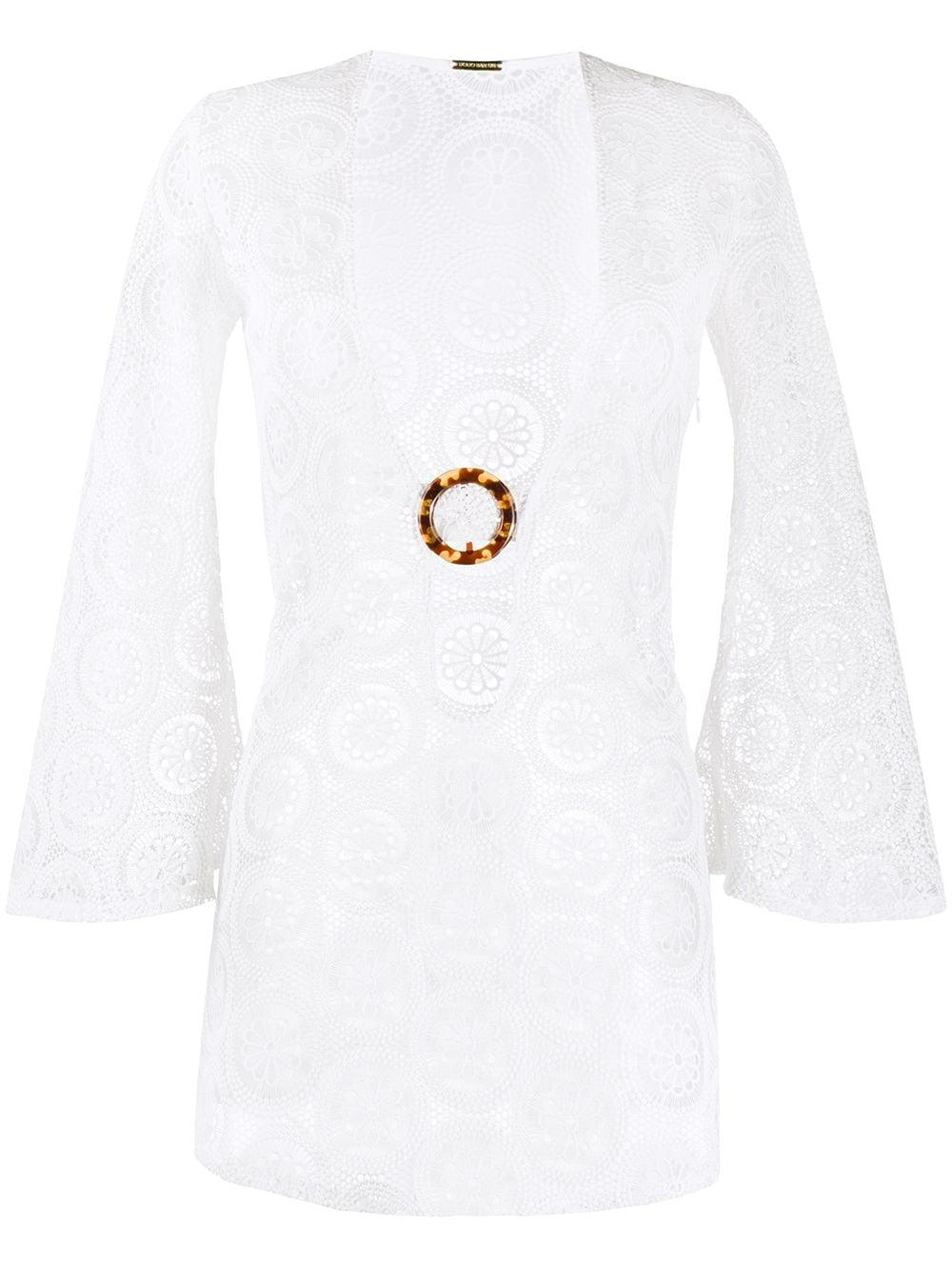 Jane Mini Crochet Dress