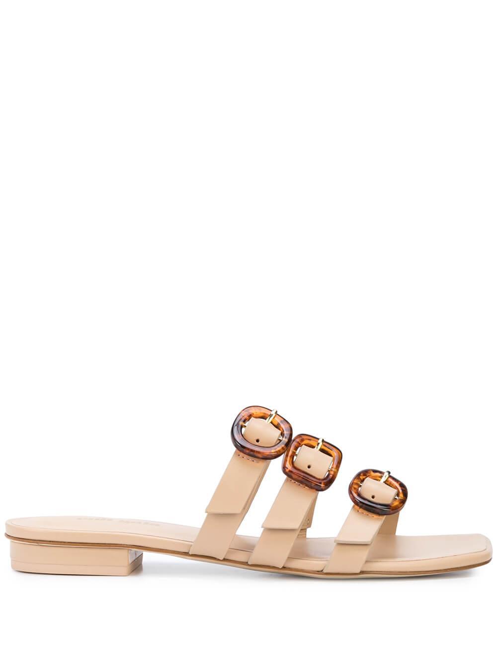 Tallulah 3 Strap Slide Sandal