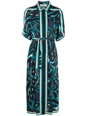 Sogol Belted Midi Dress