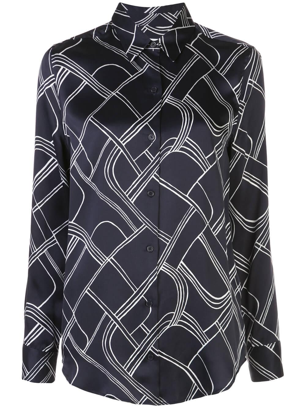 Essential Printed Button Down Item # 6215-E900
