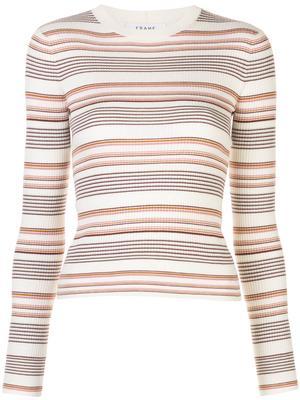 Easy Rib Stripe Sweater