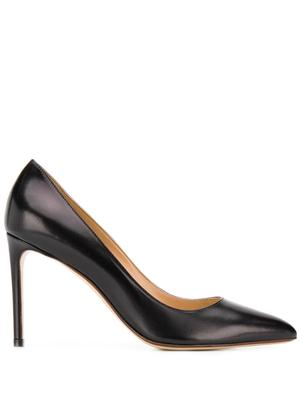 Leather 90mm Pump