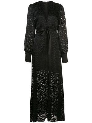 Cordelia Long Sleeve Dress With Overlay