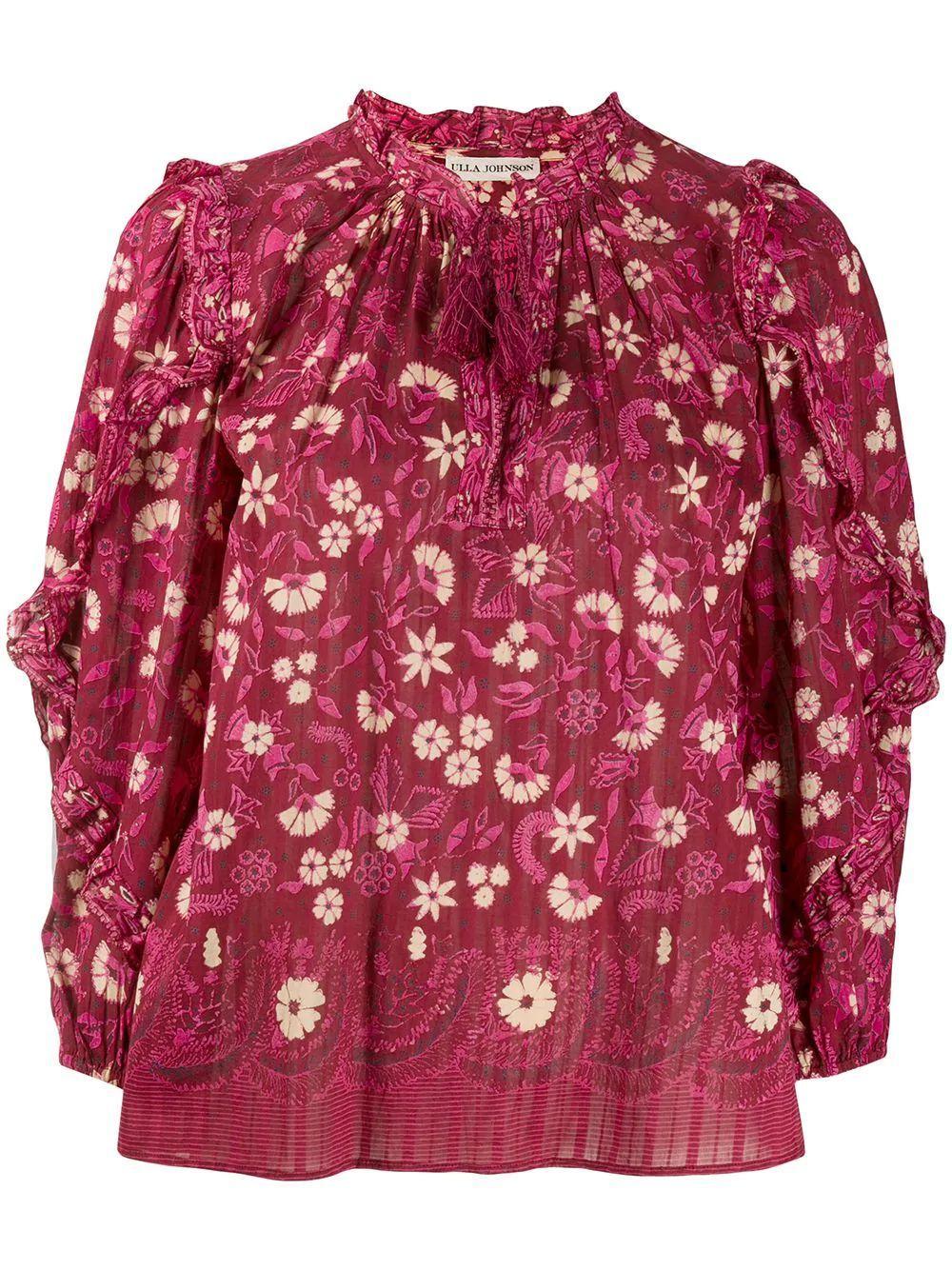 Azalea Long Sleeve Blouse Item # PS200228