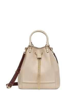 Double Carry Bucket Bag