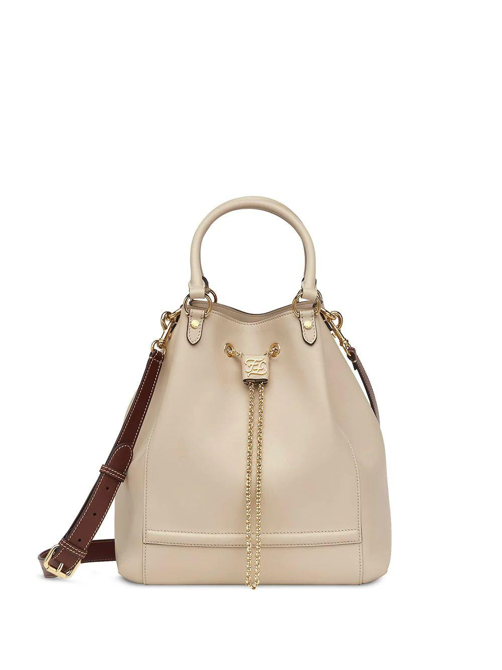Double Carry Bucket Bag
