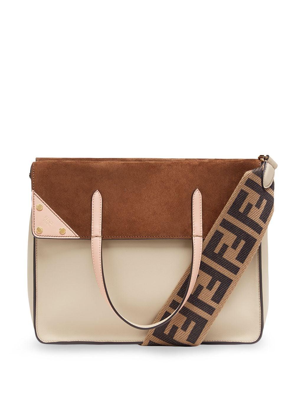 Large Fendi Flip Shoulder Bag With Ff Strap Item # 8BT303-A6CG