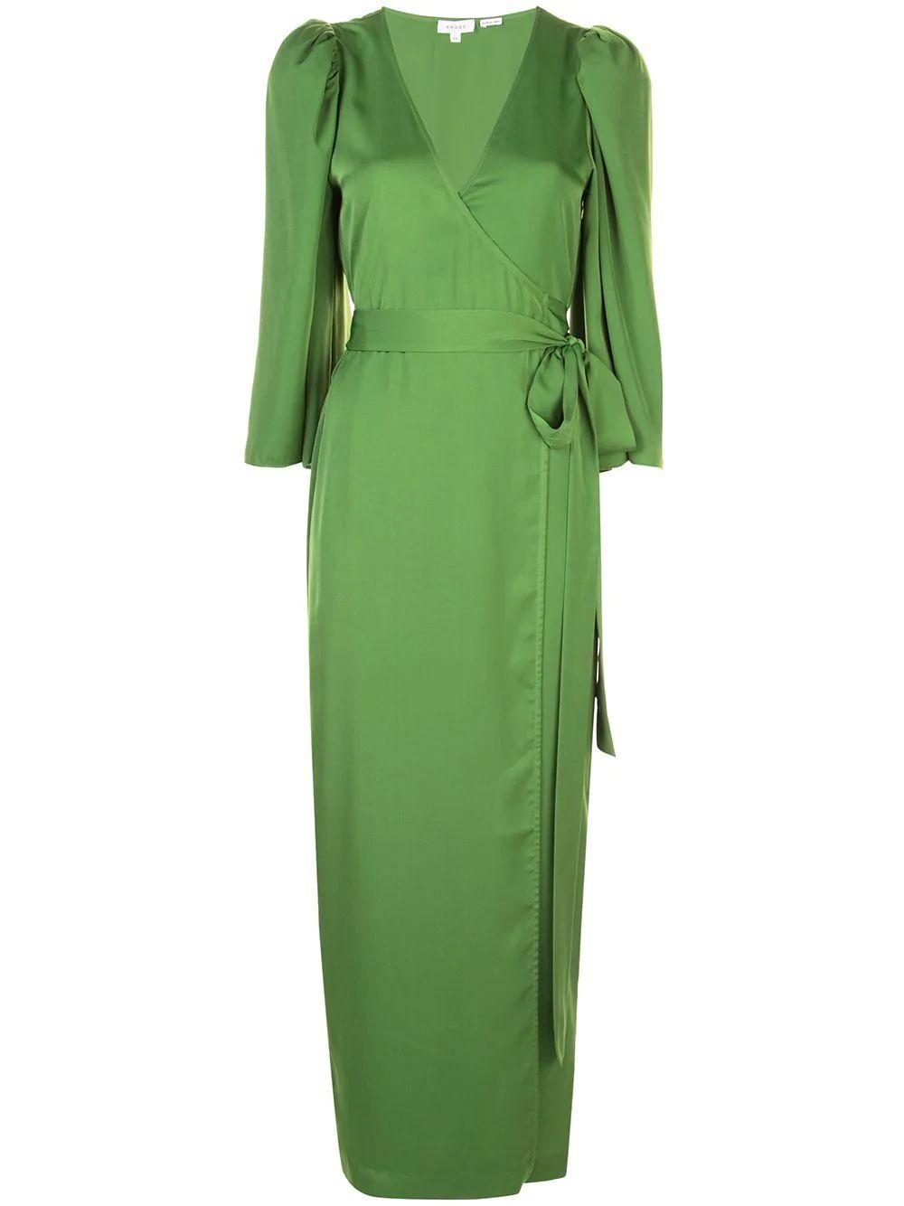 Elliot Kimono Sleeve Wrap Dress