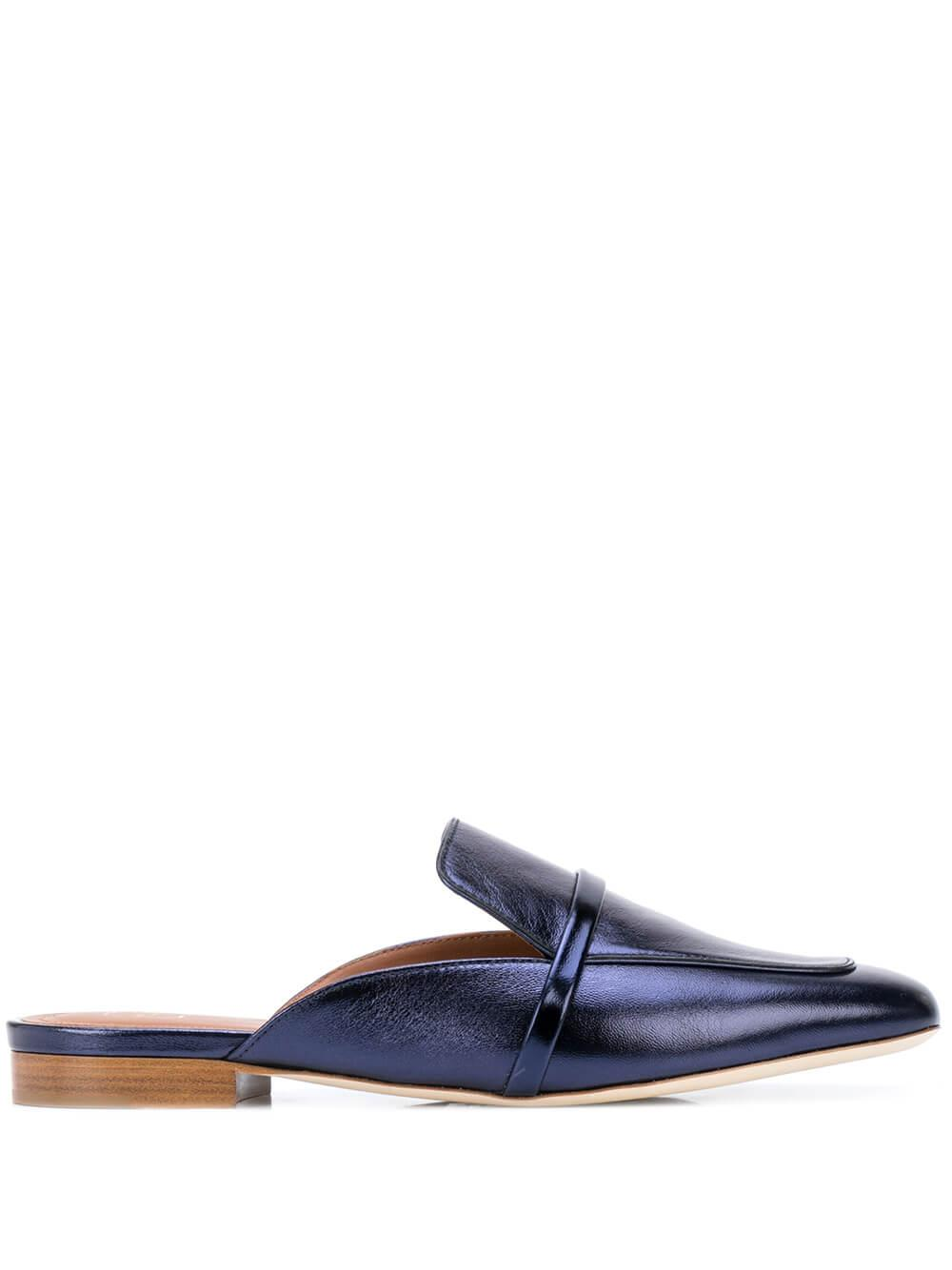 Metallic Mirror Nappa 10mm Slip On Loafer