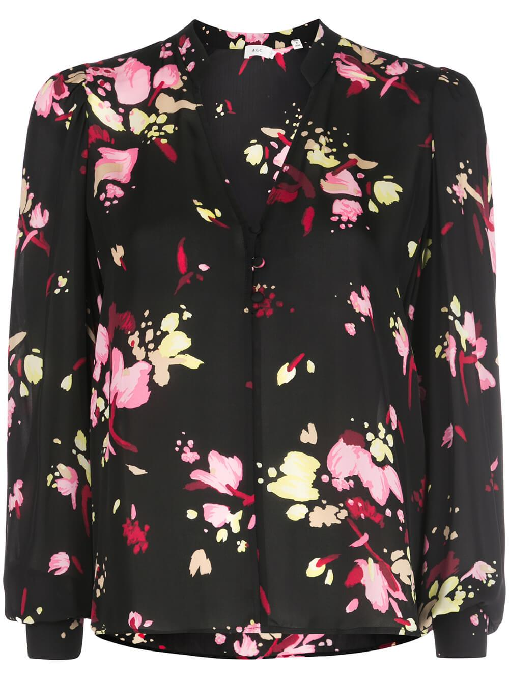 Rivera Floral Print Top
