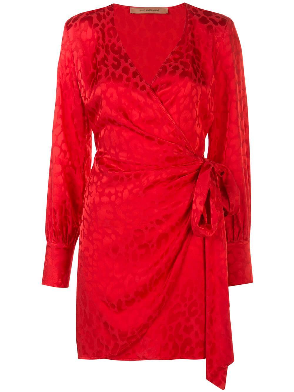 Carly Mini Dress W/Bow Item # QO2A040