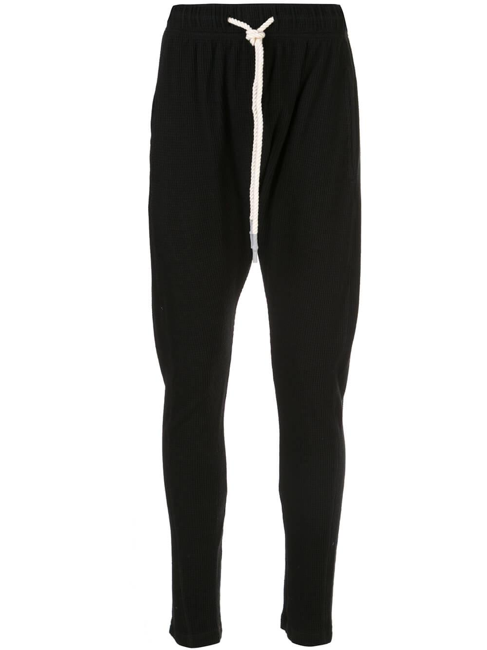 Slouch Waffle Pant