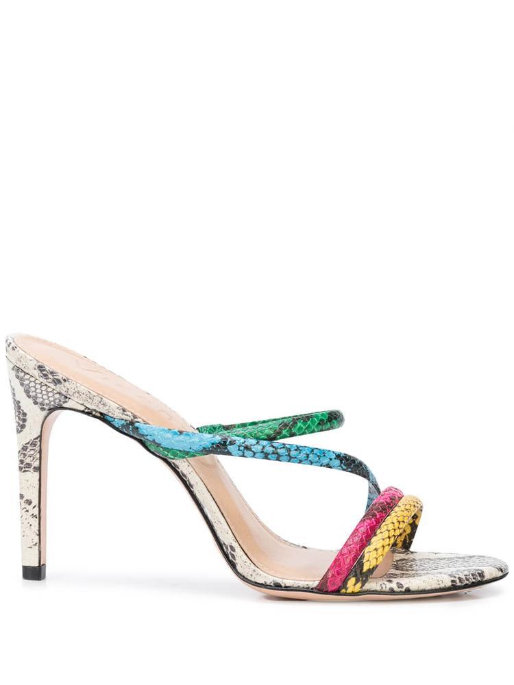 Strappy Snake High Heel Sandal Item # PARIS