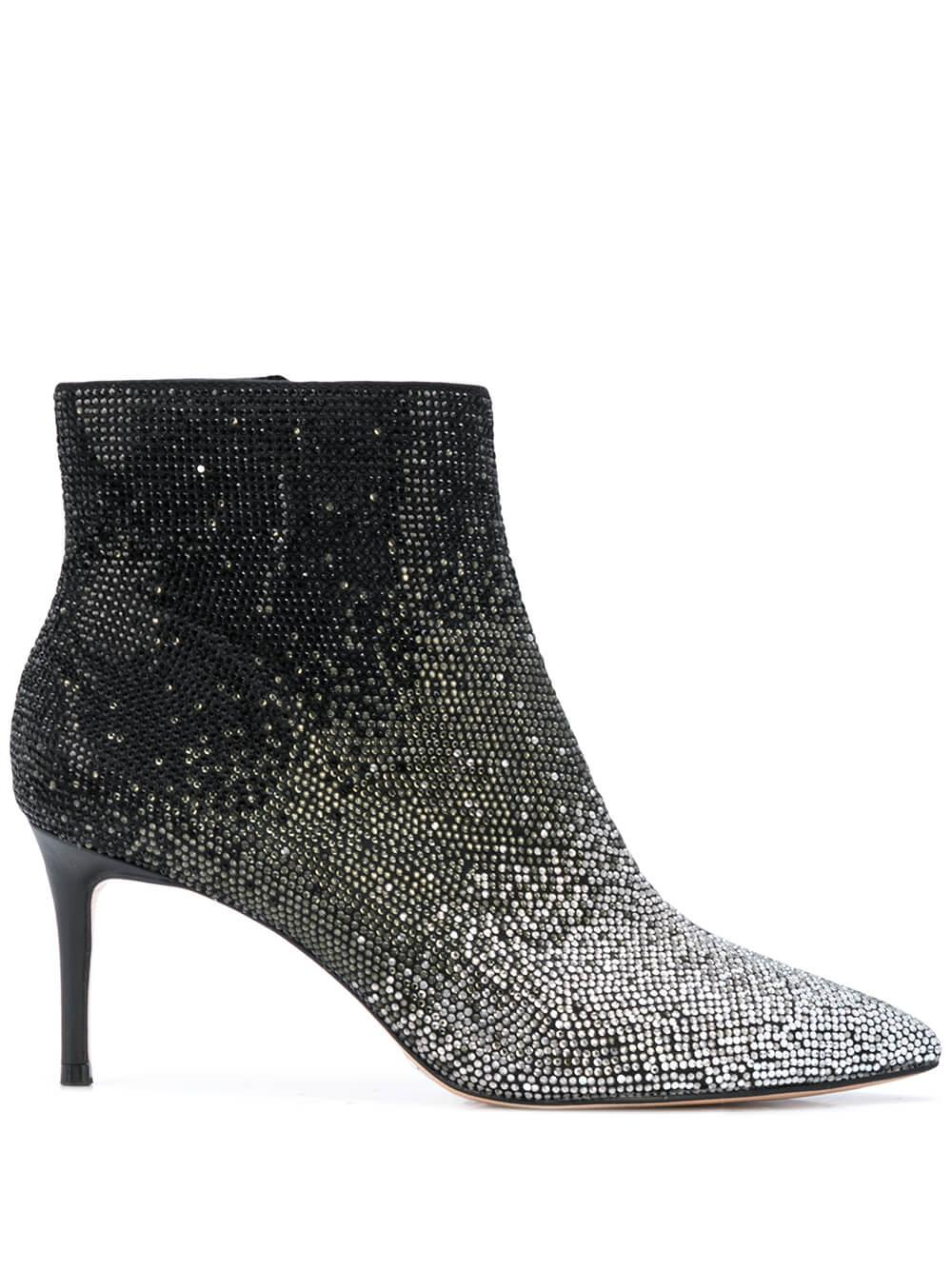 Degrade Bootie With Kitten Heel